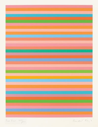 Bridget Riley, 'Rose Roase 2011', 2011