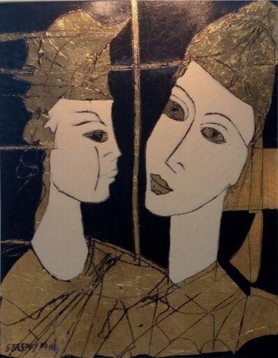 Gregory Fink, 'Amor em Preto e Dourado'