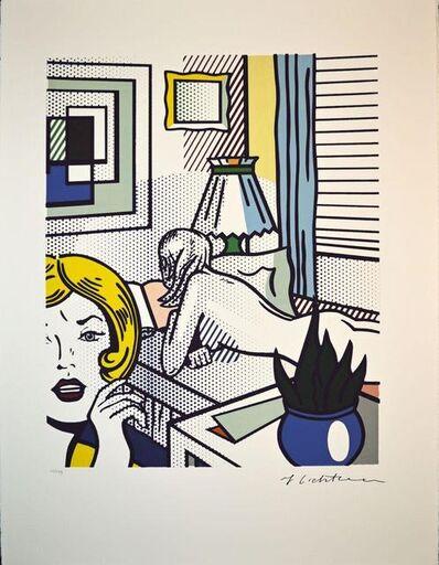 Roy Lichtenstein, 'Roommates', 1994