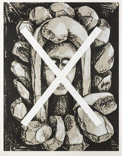 Jonathan Borofsky, 'Cross Head', 1991