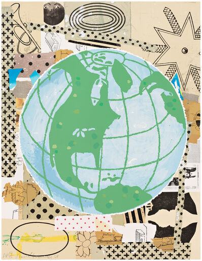 Donald Baechler, 'Globe', 2001