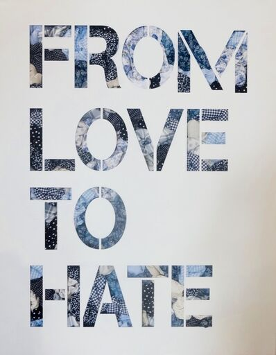 JOSEPH (b. 1961), 'From Love to Hate', 2016