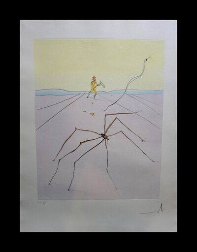 Salvador Dalí, 'Japanese Fairy Tales The Weaver Spider ', 1976