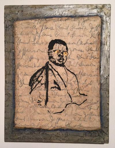 Lee Jaffe, 'Cordially Yours, Blind Lemon Jefferson', 1990