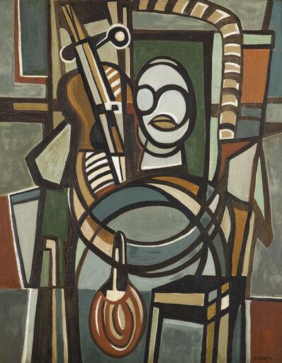 Lygia Clark, 'The Violoncellist (O Violoncelista)', 1951