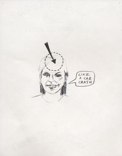 Douglas Kolk, 'Car crash', 1993