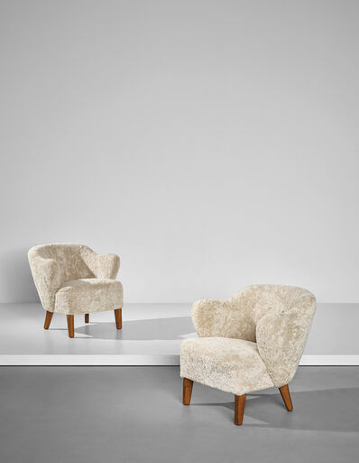 Flemming Lassen, 'Pair of armchairs', designed 1940