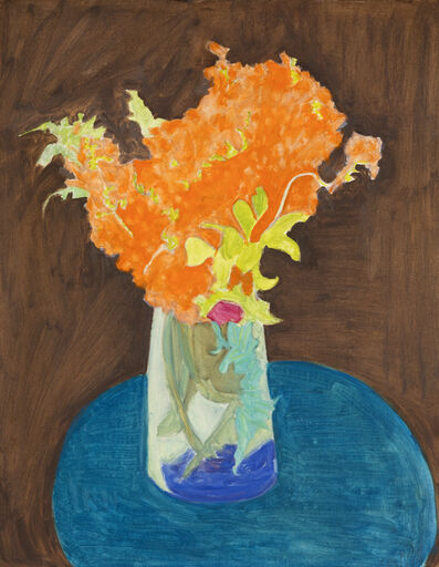 Sally Michel, 'Orange Bouquet', 1974