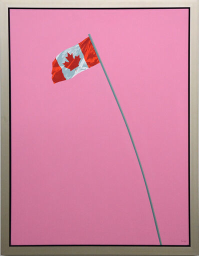 Charles Pachter, 'Pink Flag', 1988