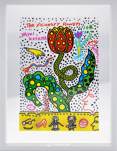 Yayoi Kusama, 'The Visionary Flowers', 2010-2020