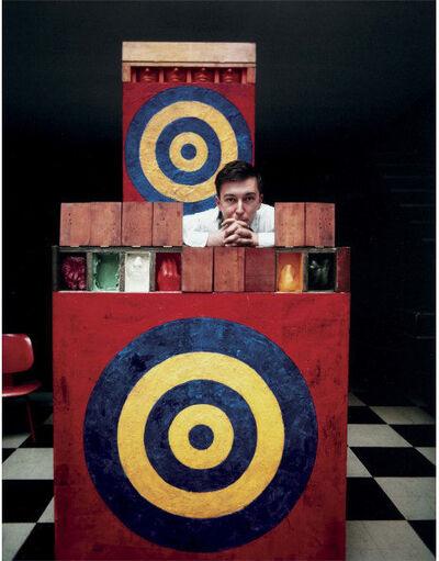 Dan Budnik, 'Jasper Johns', 1958