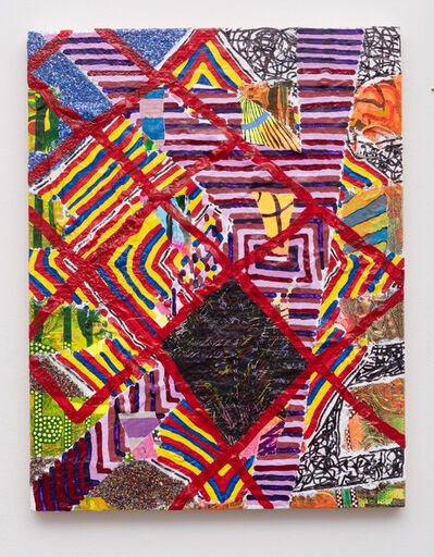 Steven Charles, 'On the manner of addressing quilts', 2019