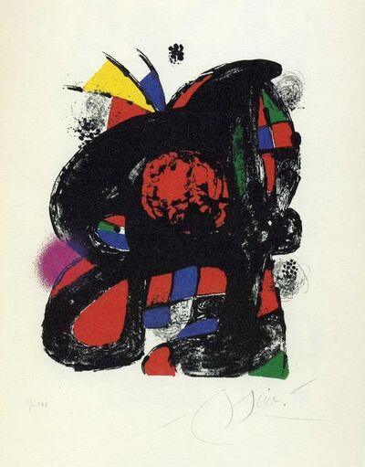 Joan Miró, 'Miró Litògraf IV', 1982