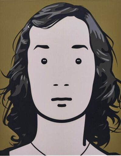 Julian Opie, 'Fiona, Artist, Nr. 4', 2001