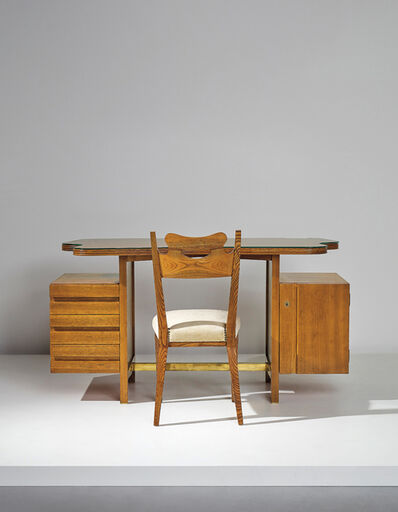 Carla Zaccagnini, 'Desk and chair, designed for a private commission, Milan', circa 1953