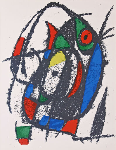 Joan Miró, 'Lithograph II no 7', 1975
