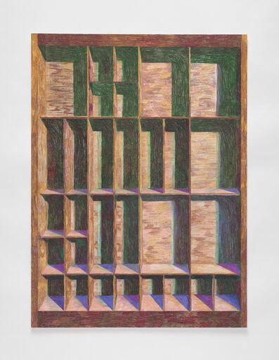 Carly Glovinski, 'Shadow Box (Letters) 1', 2020