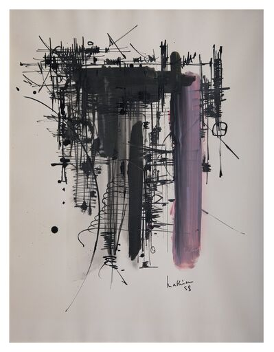 Georges Mathieu, 'Ink and gouache on paper ', 1958