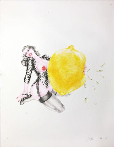 Margaret Harrison, 'Take One Lemon ', 1971