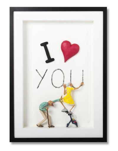 Eva Post Ruben Verheggen, 'I Love You - Yellow', 2018