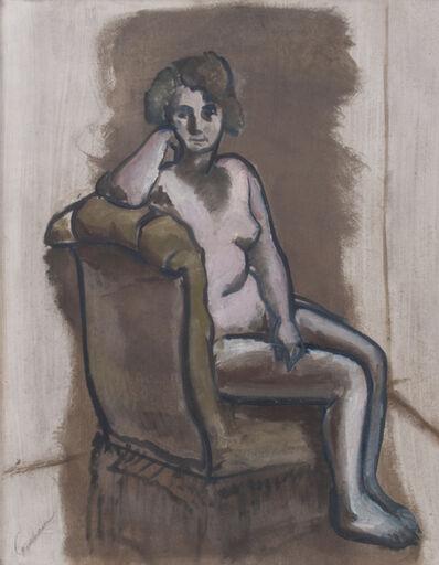 John Graham, 'Seated Nude', 1928