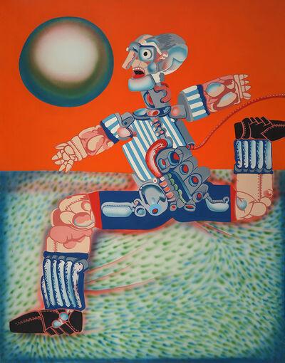 Luis F. Benedit, 'El futbol mecanico', 1969