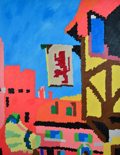 Les Ramsay, 'Ye Old Town Centre', 2018
