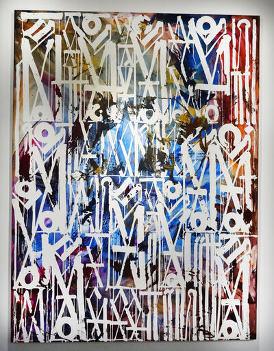 RETNA, 'I Went To New York, Had A Ball', 2017