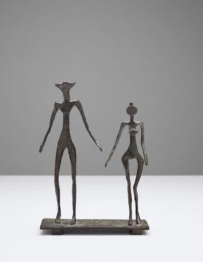 Diego Giacometti, 'Le Couple', 1957