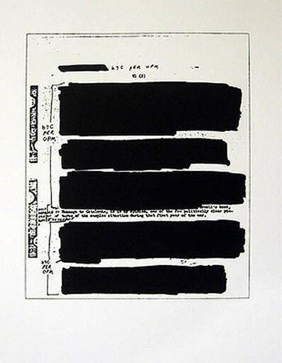 Jenny Holzer, 'AKA', 2006