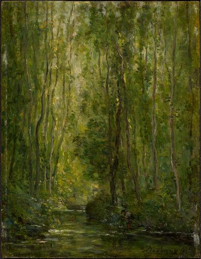 Charles François Daubigny, 'Woodland Scene', ca. 1873