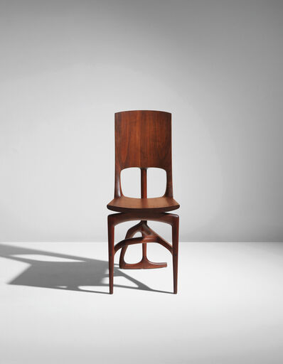 "Wendell Castle, 'Unique ""Student"" chair', 1961"