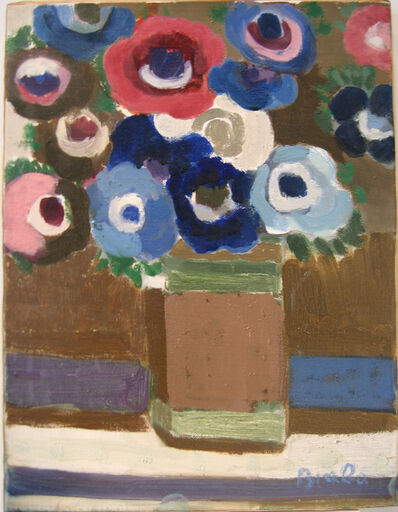 Janice Biala, 'Untitled (Anemones Bouquet)'