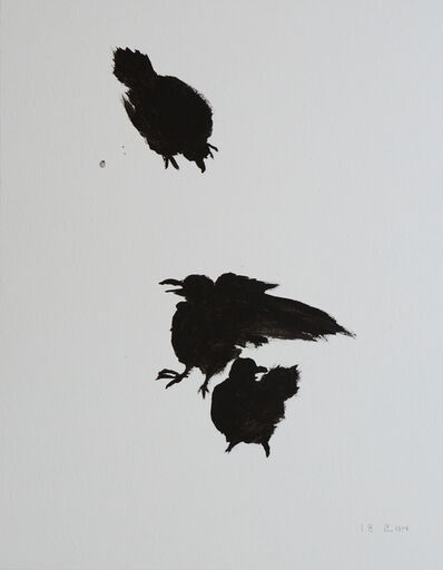 Kang Yobae, 'Crows on Snow', 2018