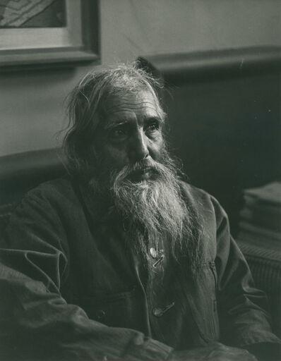 Rodrigo Moya, 'Retrato de Francisco Goitia en el despacho de A. Luna Arroyo', 1960