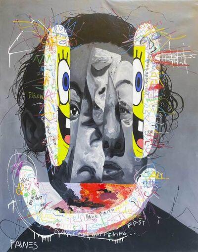 John Paul Fauves, 'Dream Of a Face', 2021