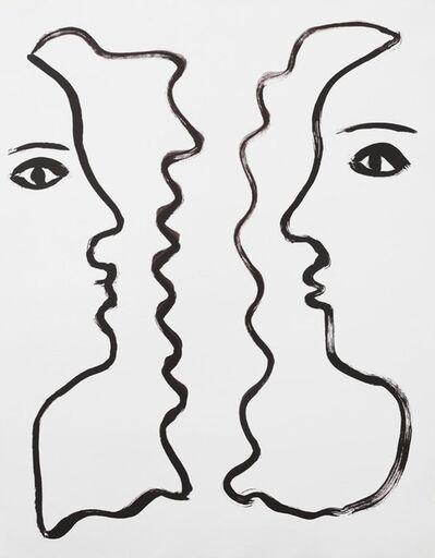 Anabella Papa, 'rostros enfrentados', 2015