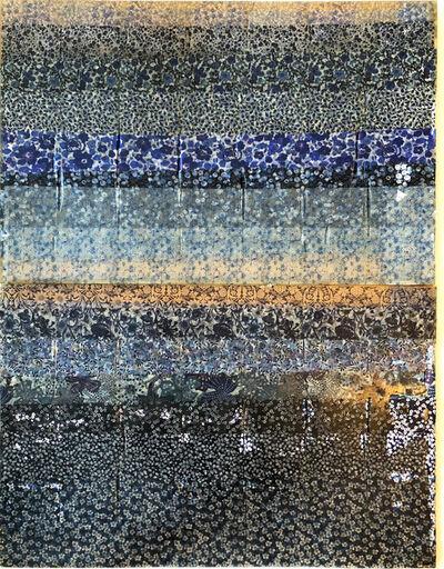 Jil Weinstock, 'Morbi Iibero Caeruleum Aquae Flores / Liberty Fabric Blue Waters Flowers', 2019