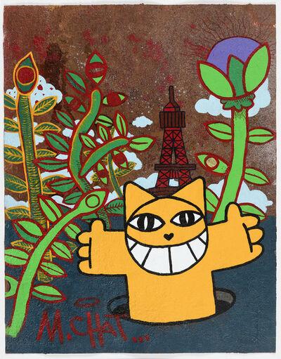 M. Chat, 'Fleuraison', 2020