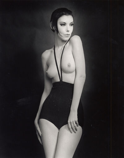 William Claxton, 'Peggy Moffitt in Rudi Gernreich, Topless Swimsuit', 1964