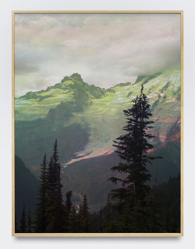 Peter Funch, 'Mt. Rainier, Emmons Glacier From Sunrise', 2015