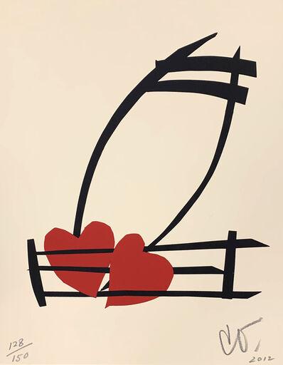 Claes Oldenburg, 'Musical Hearts', 2012