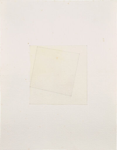 Sherrie Levine, 'After Kasimir Malevich', 1985
