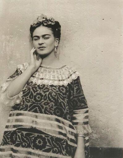Leo Matiz, 'Frida Kahlo, Coyoacán, Mexico', 1943