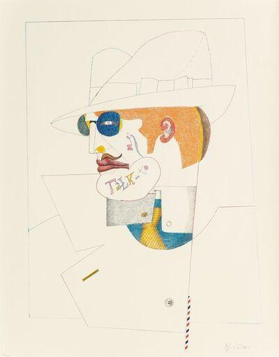 Richard Lindner, 'Talk to Me', 1970