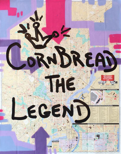 Cornbread, 'The Legend Map', 2015