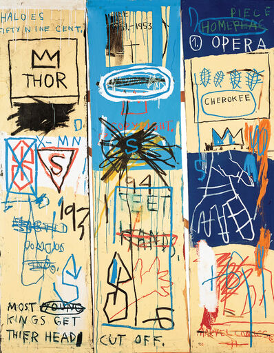 Jean-Michel Basquiat, 'Charles the First', 1983