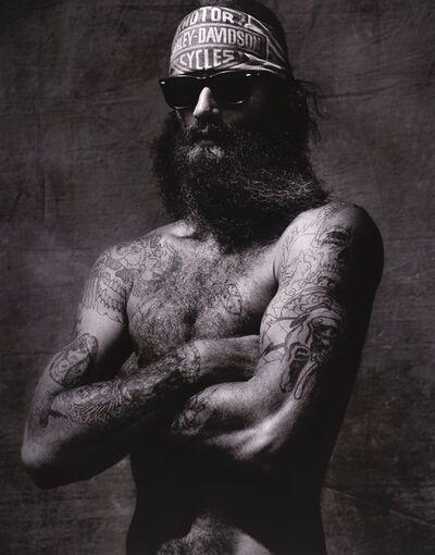 Albert Watson, 'John red Bear ', 1991