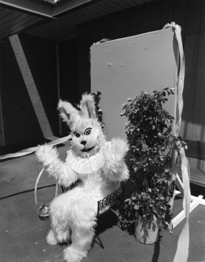 Bill Owens, 'Every Easter I dress up as the bunny', 1975