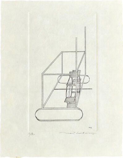Marcel Duchamp, 'The Water Mill', 1965/67